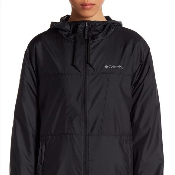low priced 12e8b 24cec Columbia Jackets   Blazers - Black Columbia Windbreaker